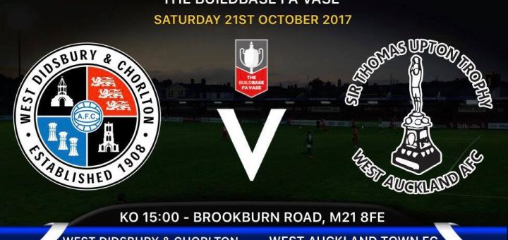 Preview West Vs West Auckland Town Fa Vase Saturday 21 October